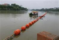 株洲水電站攔污浮排