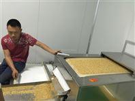 黃豆烘烤設備黑芝麻熟化設備五谷雜糧烘焙熟化設備