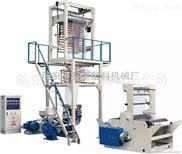 SJ-800-供应 聚乙烯高低压吹膜机 800mm塑料薄膜吹膜机 旋转机头吹膜机