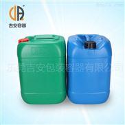 25kg小口塑料桶 25L升化工塑料桶 方扁形包装桶 厂家直销