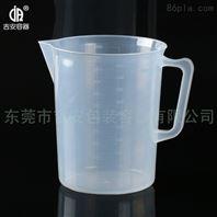 5000ml毫升 5L加厚带耳塑料量杯量筒 大量供应 带刻度塑料量杯烧杯