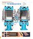 PVC地板熱壓成型機設備